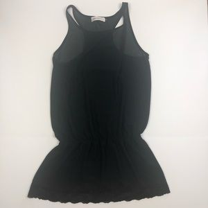 Veronica M Sheer Swimsuit Coverup Small